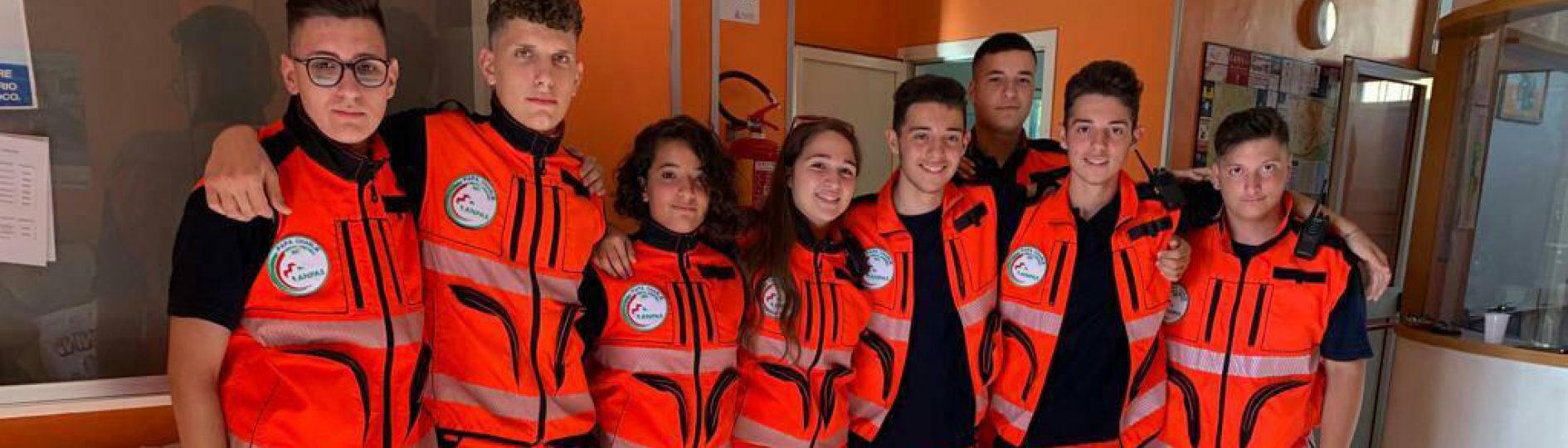 Volontari protezione civile Papa Charlie