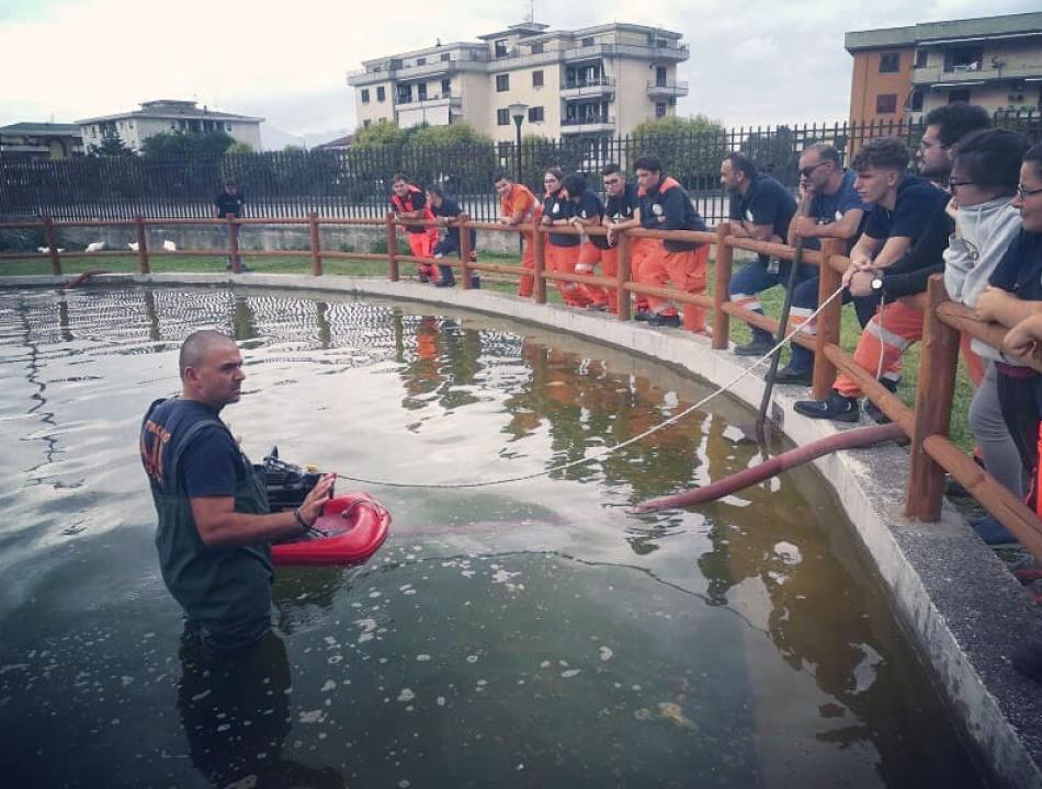 esercitazione protezione civile papa charlie
