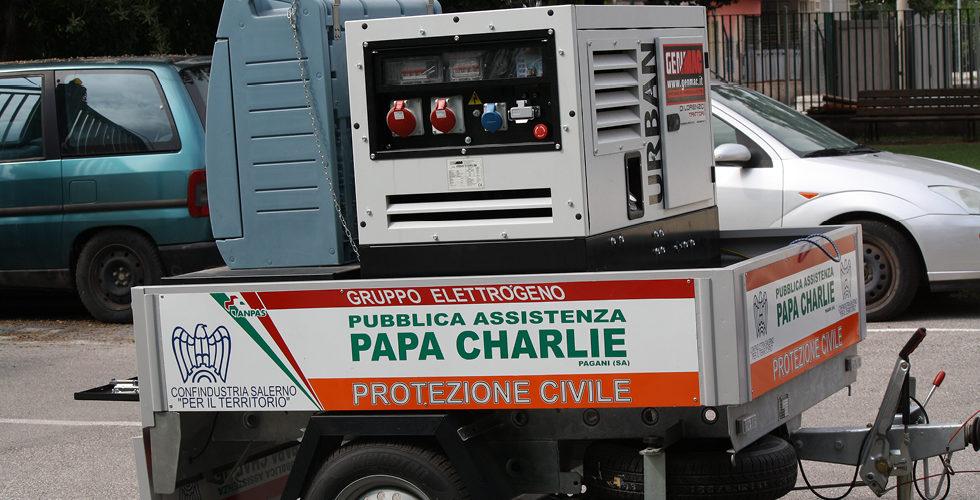 attrezzature papa charlie